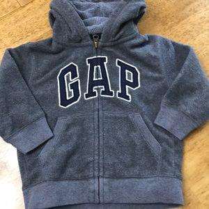 Baby Gap Thermal Fleece Hoodie 2T WARM